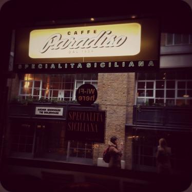 Café Paradiso, Shad Thames, London